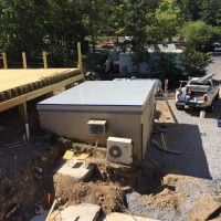 Recently Dennis Olsen a commercial roofing contractor for 23 years, got presented a unique opportunity by one of his customers. Repairing a ski lodge roof with Sani-Tred Flat Roof Repair, Commercial Roofing, Roofing Contractors, Things To Come, Outdoor Decor, Olsen, Ski, Opportunity, Skiing