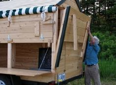 Eliot Colemanbuilt a mobile farm stand so he can take advantage of summer tourists andexpand his market. Each week he moves to three different ...