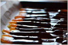 Orangettes au Chocolat façon Christophe Felder
