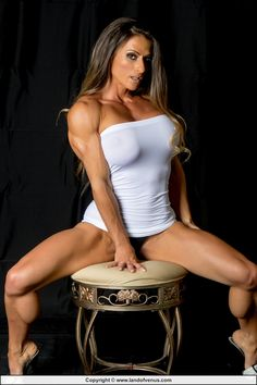SHEILA ROCK Sexy and sultry IFBB Pro Fitness Model...