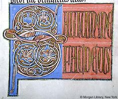 Psalter, MS G.25 fol. 70v - Images from Medieval and Renaissance Manuscripts - The Morgan Library & Museum