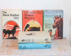 I remember reading the Black Stallion series many years ago.