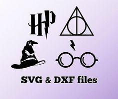 Schneiden Sie Harry Potter SVG DXF Dateien von WorldDigi auf Etsy