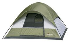 Cool! :)) Pin This & Follow Us! zCamping.com is your Camping Product Gallery ;) CLICK IMAGE TWICE for Pricing and Info :) SEE A LARGER SELECTION of 3-4 persons camping tents at http://zcamping.com/category/camping-categories/camping-tents/3-to-4-person-tents/ - #hunting #campingtents #camping #campinggear - Academy Broadway Cor. 18140 Swiss Gear 3 Person Dome Tent « zCamping.com
