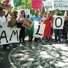 nyc #ApoyoMundialAMLO