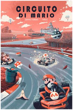 Mario Kart - by Josh Martinez