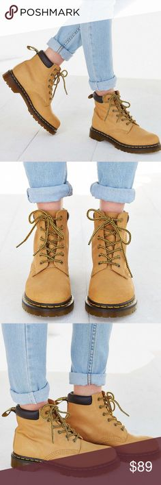 5bec2158822 Dr. Martens eye hiker tan timberland like boots Brand new without the box.  If