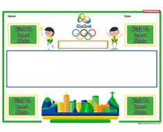 Rio Olympic Learning Story