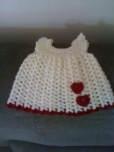 Crochet Valentine's Day dress