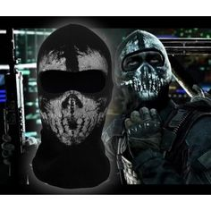 Call of Duty:Ghosts Keegan masks