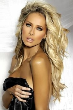 Dark Ash Blonde, Bleach Blonde Highlighted hair #18/613    available at cliphair.co.uk   Finest Quality Human Hair