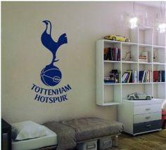 Tottenham Hotspur Badge Wall Decal Art by WondrousWallArt ...