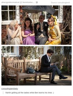 After hearing how he stressed about the Best Man speech, seeing these two pictures made me feel so sorry for him. ♥