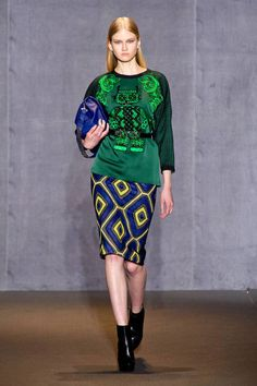 Andrew GN Fall 2014 Ready-to-Wear Runway - Andrew GN Ready-to-Wear Collection