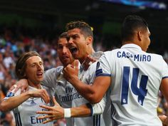 Cristiano Ronaldo inflicted a crushing defeat on Atletico Madrid