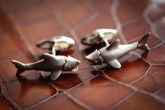 Deakin & Francis shark #cufflinks @Bryson Wells #menswear