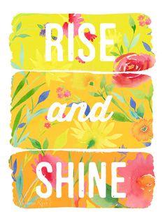 Rise and Shine Art Print by stephanieryanart on Etsy, $22.00