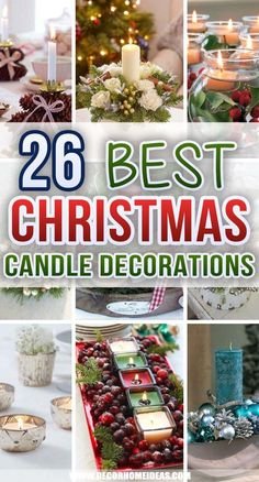 Christmas Candle Centerpieces, Outdoor Christmas Decorations, Table Decorations, Magical Christmas, Christmas Fun, Xmas, Holiday, Diy Projects, Candles