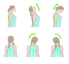 7 Effective Ways to Get Rid of Neck Pain - PinXp Hip Strengthening Exercises, Neck Exercises, Neck Stretches, Perfect Posture, Good Posture, Neck And Shoulder Pain, Neck Pain, Fix Rounded Shoulders, Face Pulls