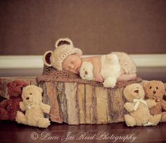 Photo Prop Teddy Bear Outfit with Diaper Cover - Halloween Photo Prop - Halloween Costume. $27.00, via Etsy.
