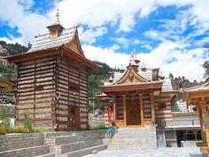 Village Temple, Jangi Village, Himachal Pradesh