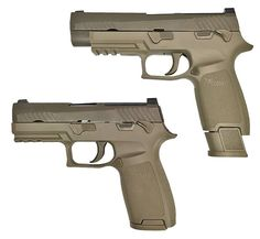 SIG SAUER, Inc. announced today that the U.S. Army has selected the SIG SAUER Model P320 to replace the M9 service pistol currently in use since the mid-1980's. Released in 2014, the P320 is a polymer striker-fired pistol that has proven itself in both the United States and worldwide markets. The P320 is the first modular pistol with interchangeable grip modules that can also be adjusted in frame size and caliber by the operator. All pistols will be produced at the SIG SAUER facilities in…