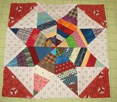 string diamonds star; quiltville