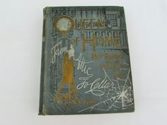 1893 Antique Queen of Home.  This hardcover book is titled Queen of Home, Her Reign from Infancy to Age, From Attic to Cellar.  This book is by Emma Churchman Hewitt.  Twelve different departments are included in this book.  They range from treating of home occupations to social relations.  It also includes papers by Eminent Authorities on home decorations and the sick room.