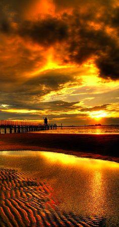 beach sunsets, sunset beach, northern italy, sunris, natur, lighthous, beauti, gods creation, rising sun