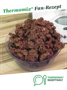 Chocolate Crossis by A Thermomix ® recipe from the Sweet Baking category at www.de, the Thermomix ® Community. Chocolate Crossis by A Thermomix ® recipe from the Sweet Baking category at www.de, the Thermomix ® Community. Roast Meat Recipe, Meat Recipes, Dinner Recipes, Burger Meat, Roasted Meat, Vegetable Drinks, Healthy Eating Tips, Chocolate, Cooking Time