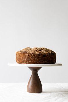Pear cardamom cake w