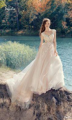 """""""Wings of Love"""" 2017 Wedding Dresses from Papilio   Deer Pearl Flowers - Part 6"""