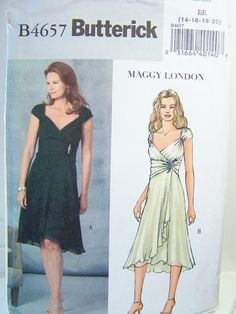 Butterick B4657 Misses' Sewing Pattern  Wrap by WitsEndDesign