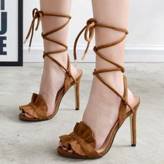 Sexy Bohemian Gladiator High Heel Shoes