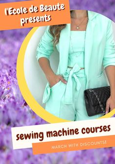 If you are a creative person and you do not leave the desire to constantly create, you can master the art of sewing. Have the knowledge and skills to work with a sewing machine, you will save time and effort. Sewing Courses, Sewing Class, School Fashion, Effort, Knowledge, London, Create, Clothes, Art