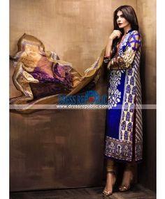 Sana Safinaz Eid Silk Collection 2015 Beautiful Pakistani Dresses, Lawn Suits, Eid Collection, Pakistani Outfits, Dress Suits, Asian Fashion, Dresses Online, Asian Clothes, Chiffon Dresses