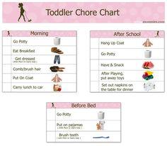 Printable Chore Charts | Toddler-Chore-Chart.jpg