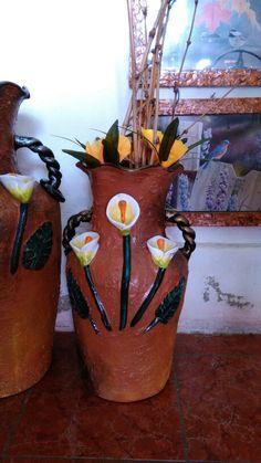 Floreros medianos Q 125.00