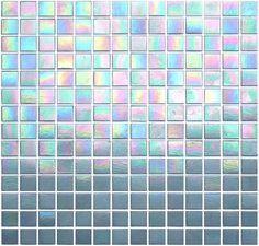 Silver Screen from Kaleidoscope Glass Mosaic Tile- ColorGlitz in. gorgeous iridescent pale gray mosaic tile for kitchen backsplash, shower surround and swimming pool. Tumblr Soft, Pretty Tumblr, Rainbow Aesthetic, Violet Aesthetic, Aesthetic Colors, Aesthetic Anime, Glass Mosaic Tiles, Vaporwave, Textures Patterns