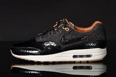 Nike Air Max 1 FB – Leopard – Black Patent Leather