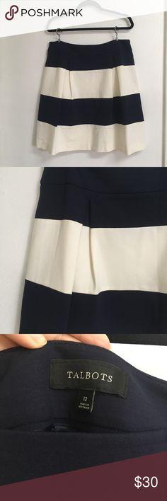 81ebdf317cb Spotted while shopping on Poshmark  Talbots striped skirt!  poshmark   fashion  shopping