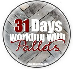 31 Days Working With