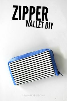 Zipper Wallet DIY