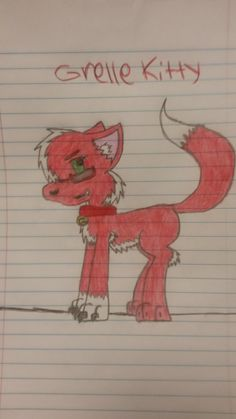 Grelle kitty by DreiwanPrincess.deviantart.com on @DeviantArt