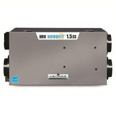 Échangeur d'air Venmar AVS, NOVOFIT 1.5 ES HRV PCM 66/150 http://comparer3prixthermopompes.ca/echangeurs-air/venmar/avs-novofit-1-5-es-hrv/