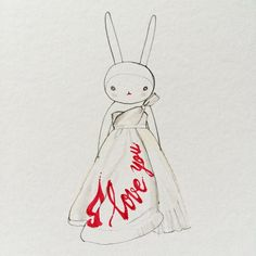 Fifi Lapin wears Viktor and Rolf ballgown