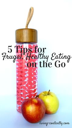 While traveling does make sticking to a budget and healthy eating more difficult, it's not impossible. Use these tips to eat healthy and frugal on the go.