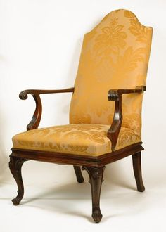 19th C. Spanish Influenced Santo Dominican Mahogany Lolling Chair