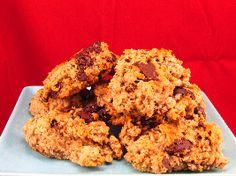 Voedselzandloper-proof: Havermoutbrokken met chocola