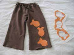 "TUTORIAL: Freezer Paper Stencil, ""Makenna Loves Goldfish""    - Going to use this process to make us  some matching Disney shirts! :)"